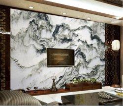 石纹山水画背景墙图片下载